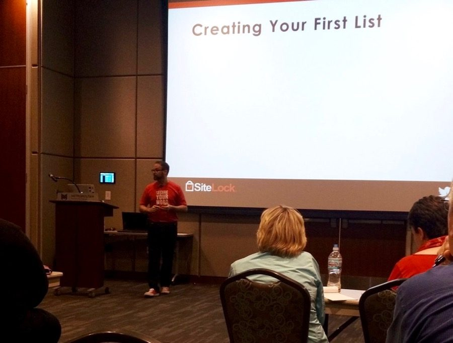 Adam Warner - Creating Your First List