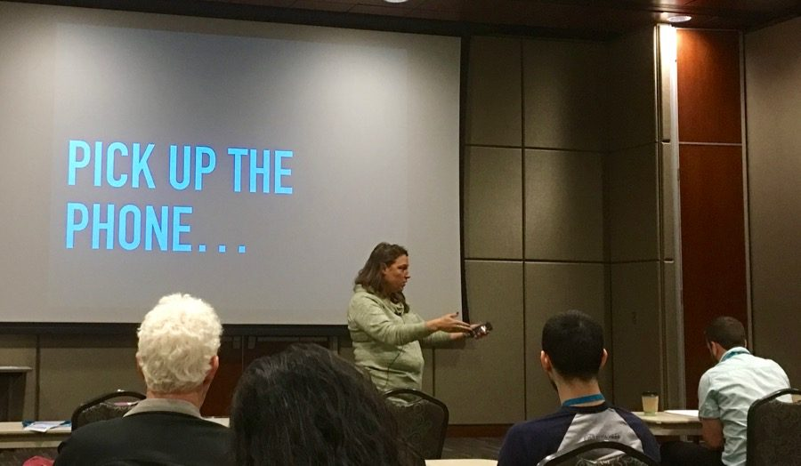 Presentation by Marianne Worthington during WordCamp Omaha 2016