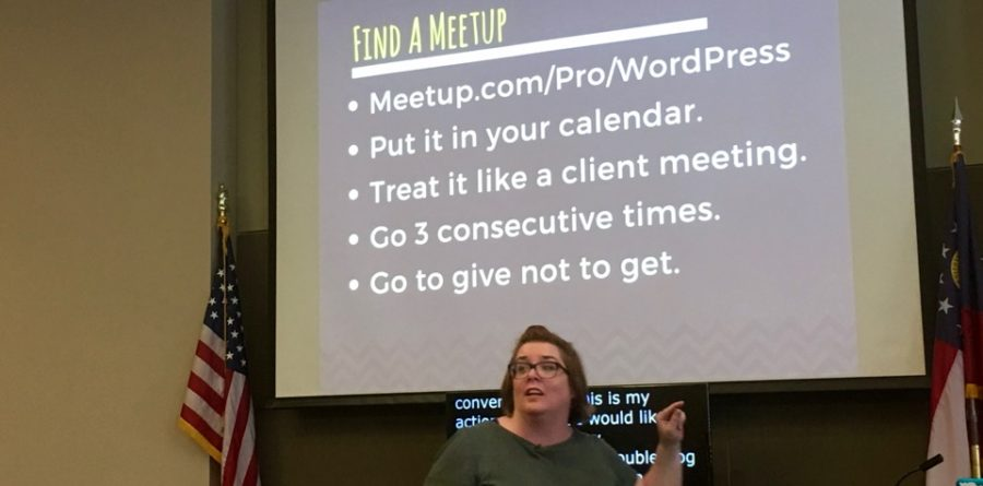 Bridget Willard - WordPress Meetups