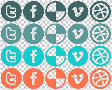 Social Image Sprite