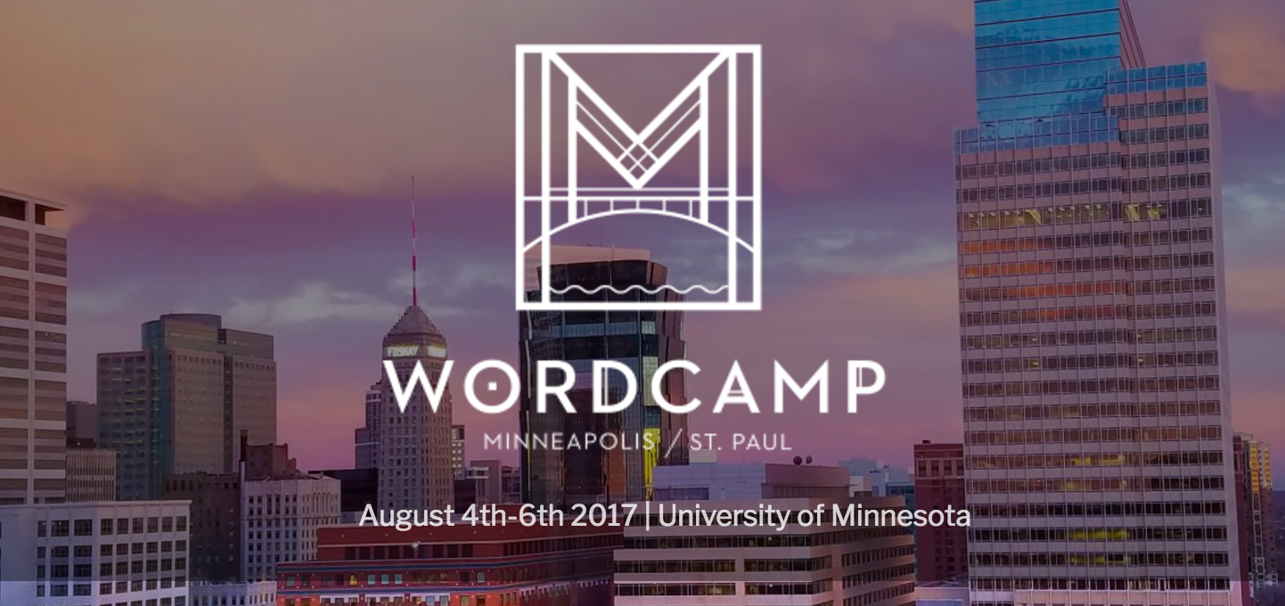 WordCamp Minneapolis 2017