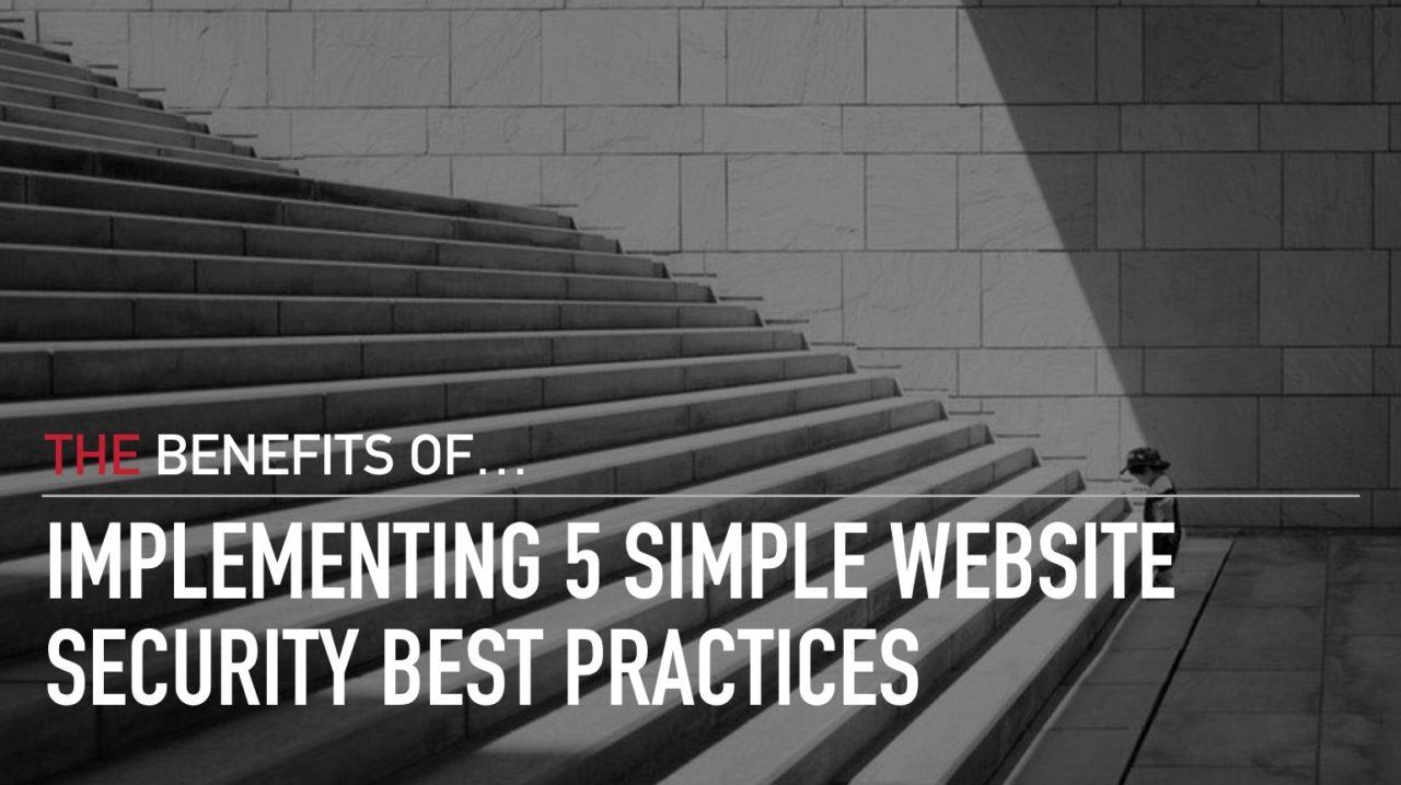 website security best practices