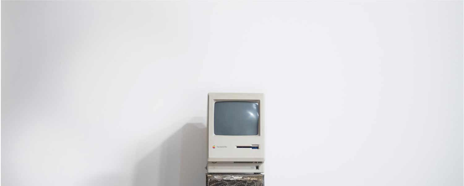 Macintosh Plus with a true 72ppi screen
