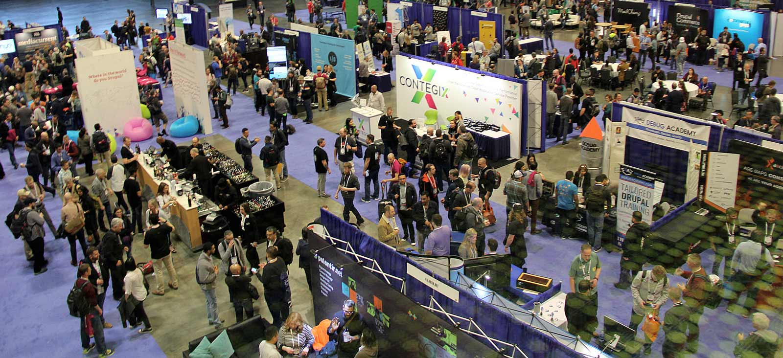 DrupalCon 2018 Exhibitors Hall
