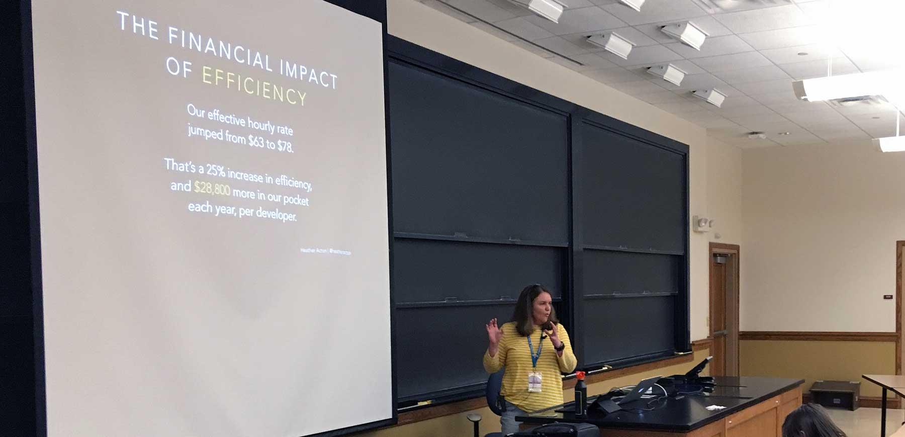 Heather Acton, WordCamp St. Louis 2018