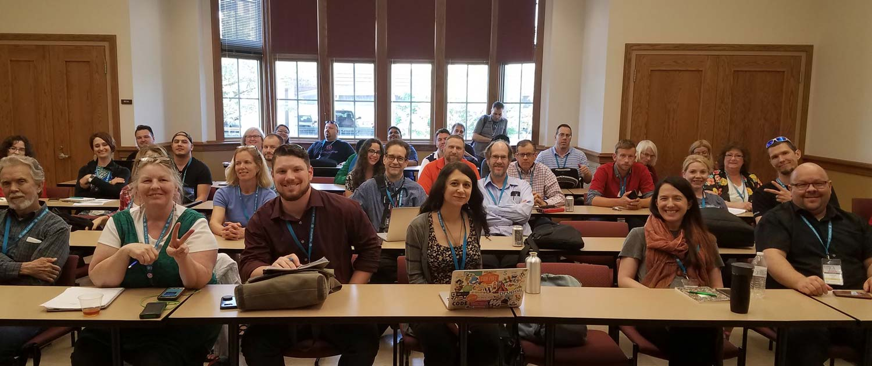 WordCamp St. Louis audience