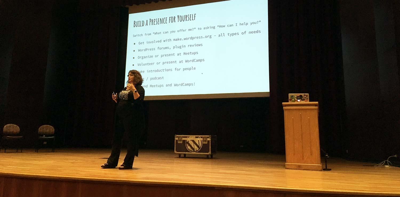 Angela Bowman, WordCamp Denver 2018 keynote