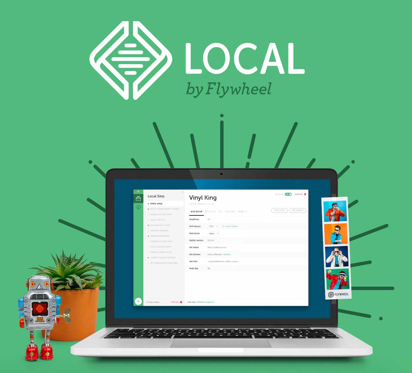 Local by Flywheel graphic