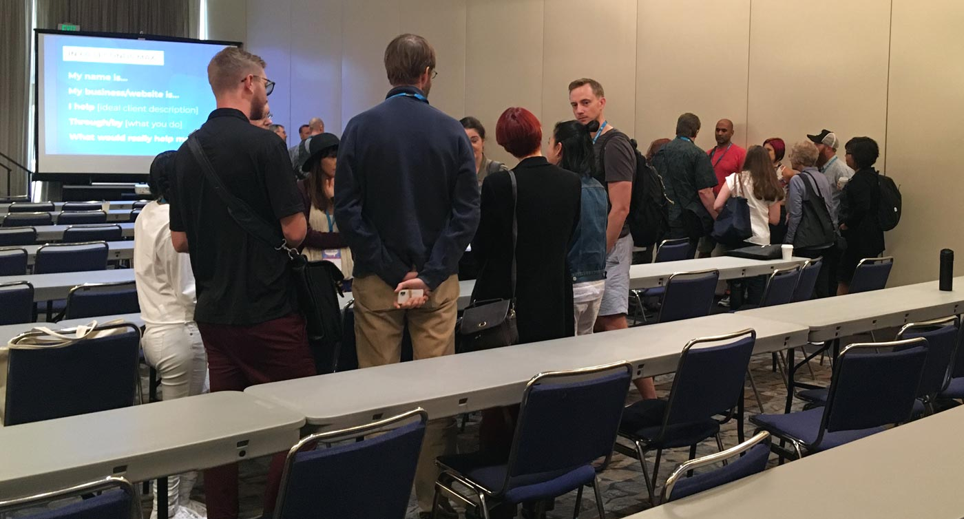 Networking session WCSacramento 2018