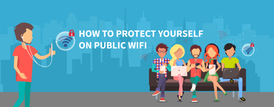 how to stay secure on public wifi