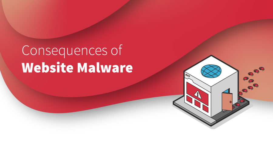 Consequences of website malware