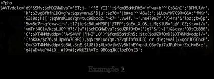 Bitwise Malicious Code Nonsense