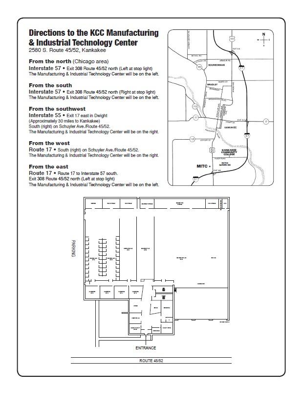 AWS J.A.K. October Meeting Location Map