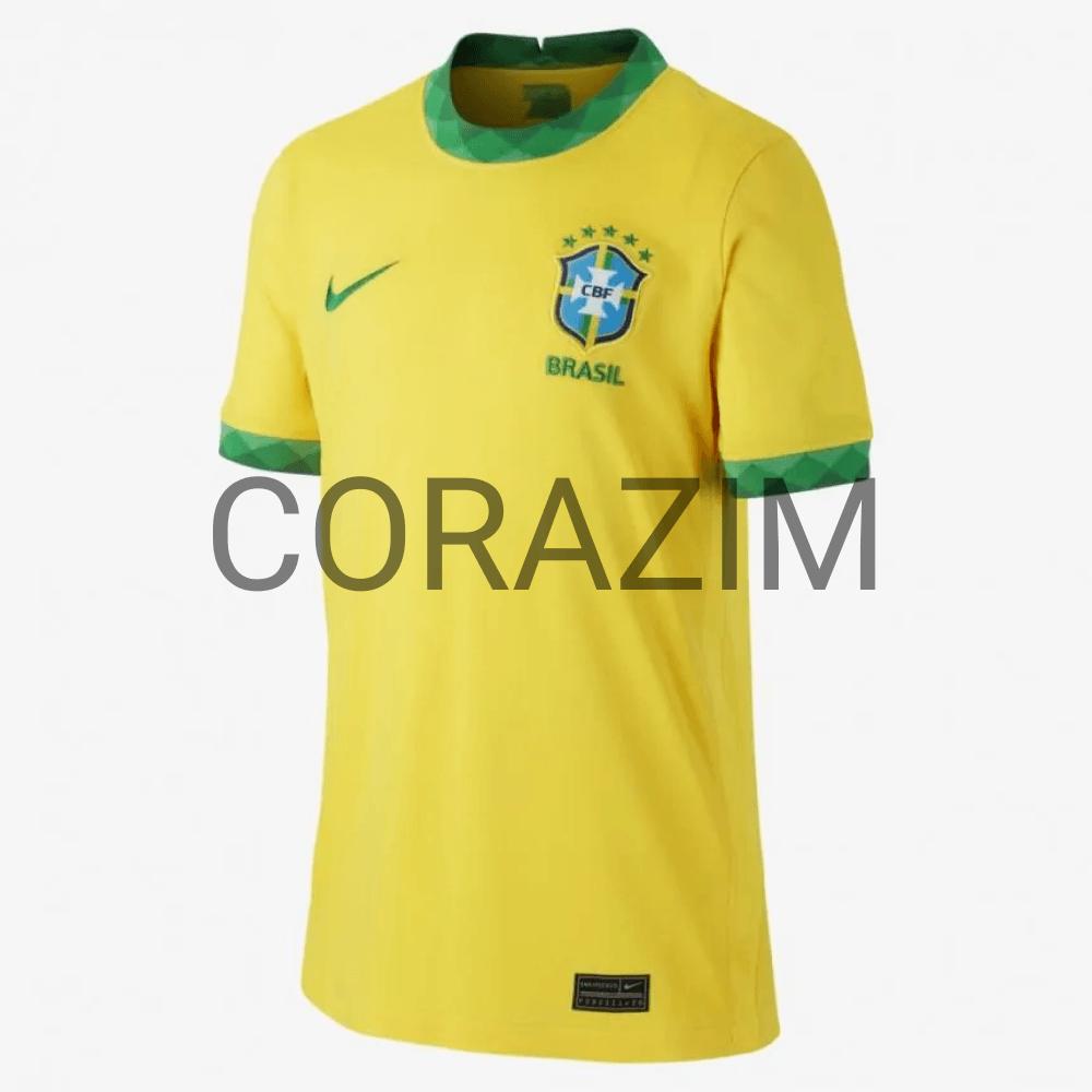 Camisa Nike Brasil I 2020/21 Torcedor Pro Infantil