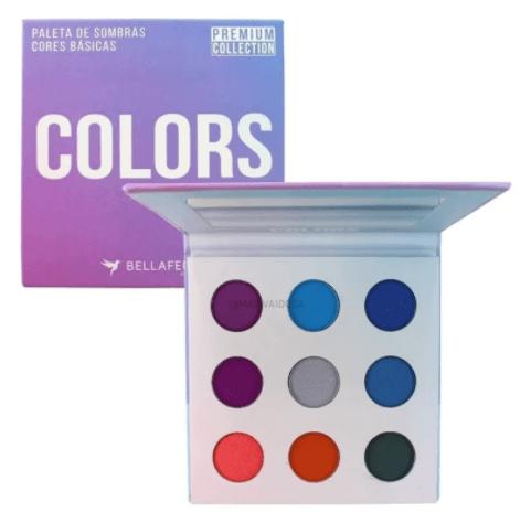 Paleta De Sombras Colors - Bella Femme