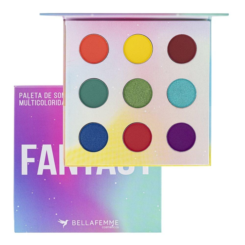 Paleta De Sombras Fantasy - Bella Femme