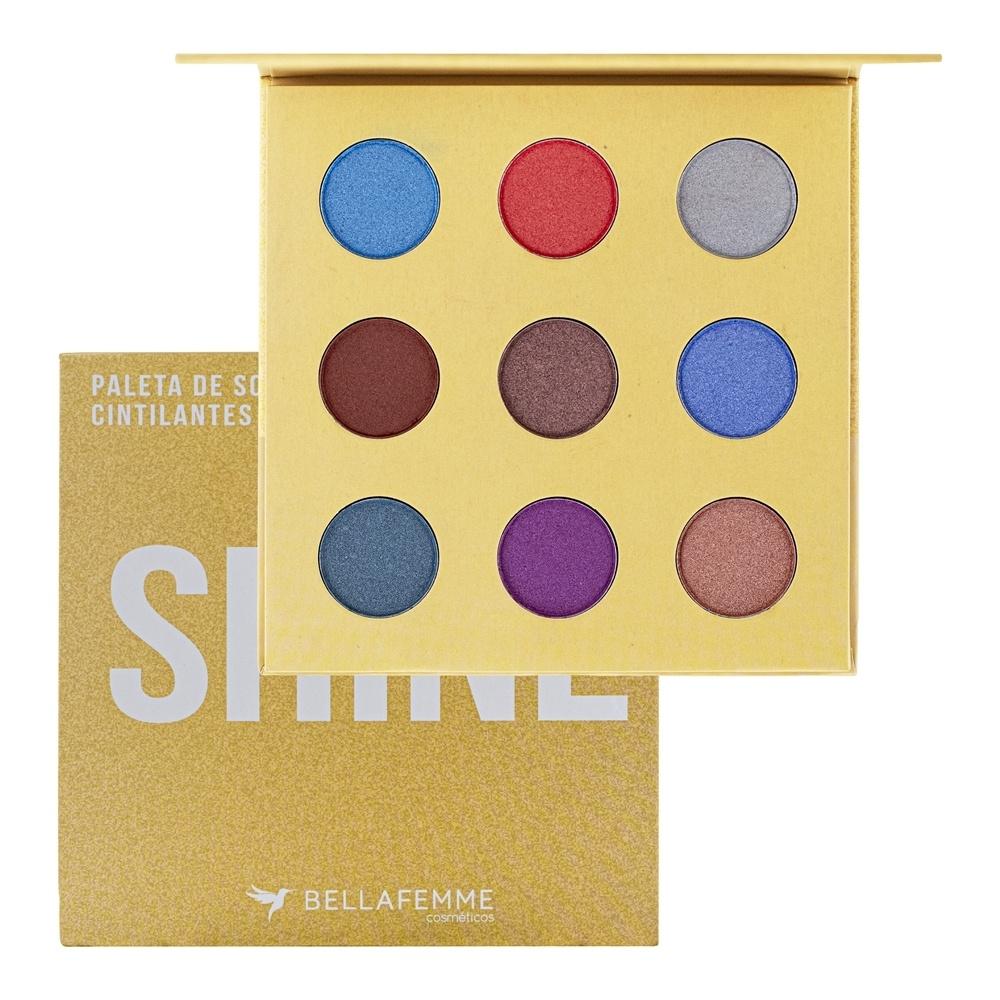 Paleta De Sombras Shine - Bella Femme
