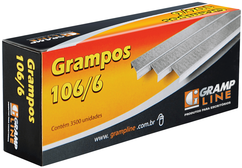 Grampo 106/6 Galvanizado Bacchi 3500 Unidades