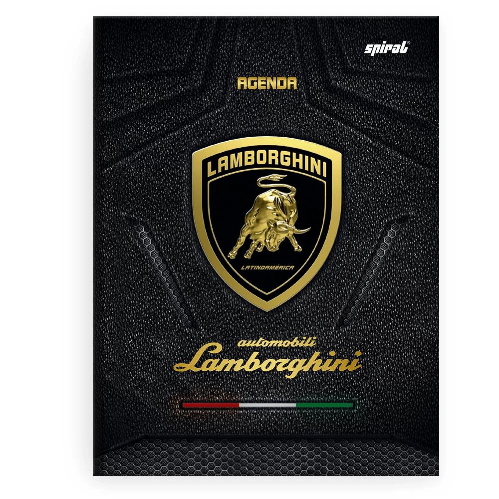Agenda escolar Lamborghini Spiral PT 1 UN