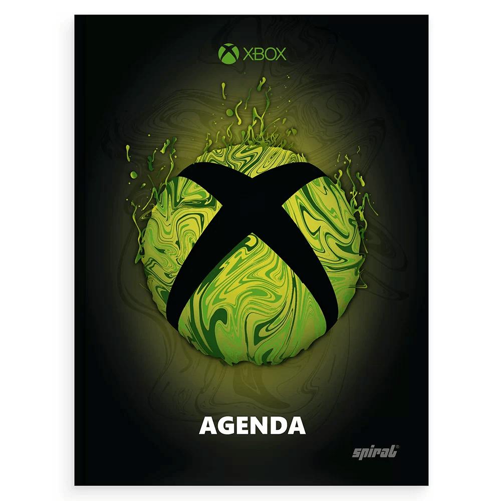 Agenda escolar XBox Spiral PT 1 UN