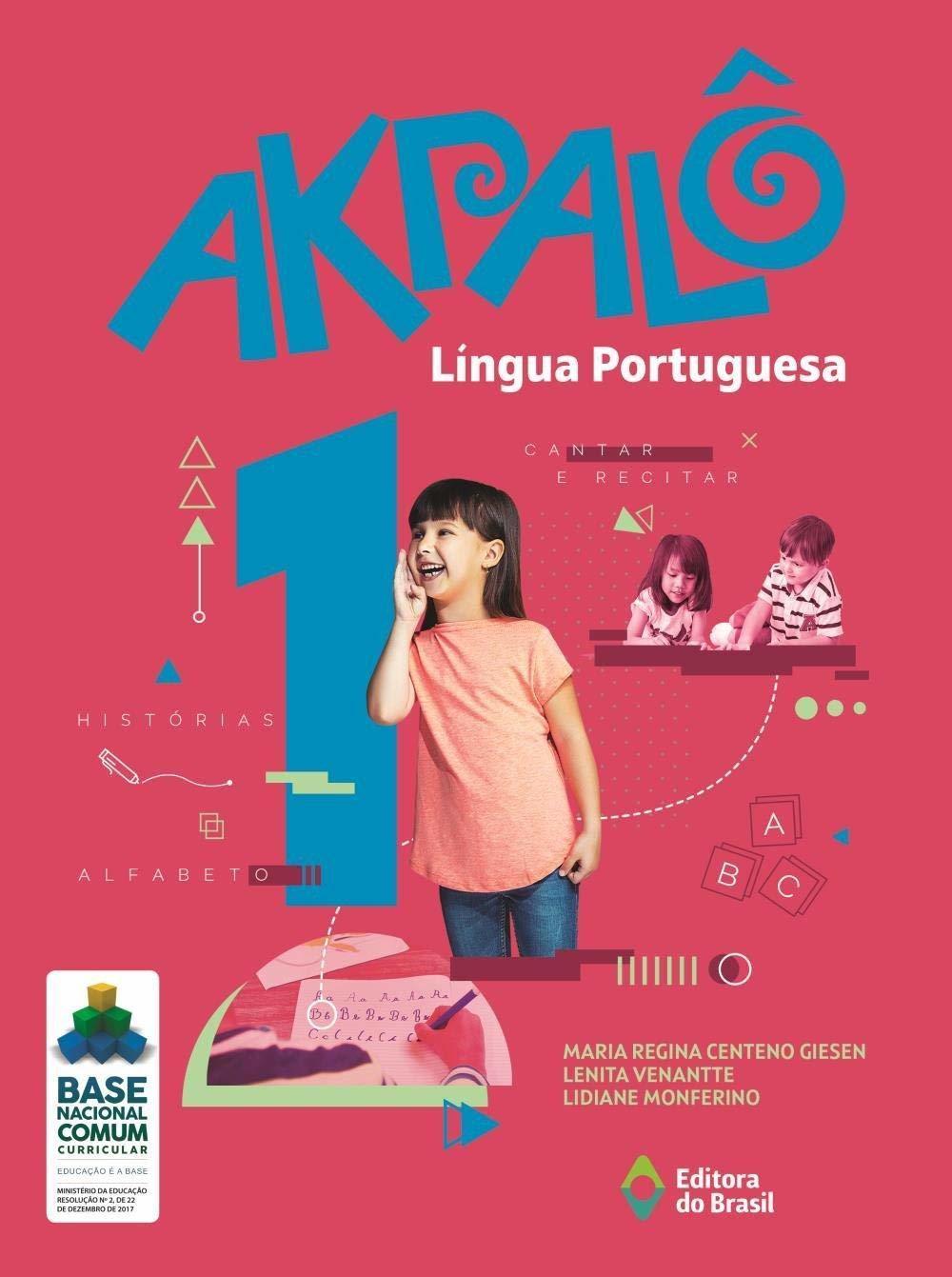 AKPALÔ LÍNGUA PORTUGUESA - 1ºANO