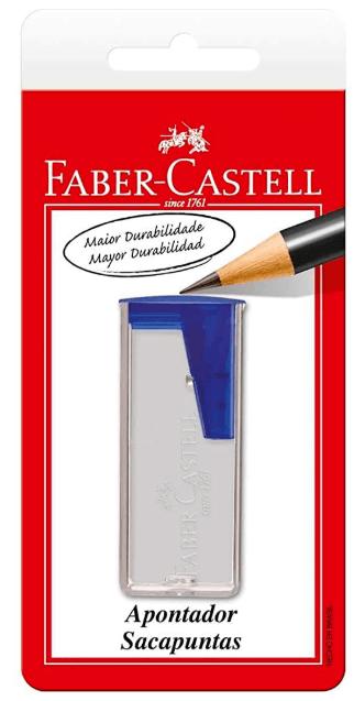 Apontado c/ depósito Azul SM/060124ZF Faber Castell BT 1 UN