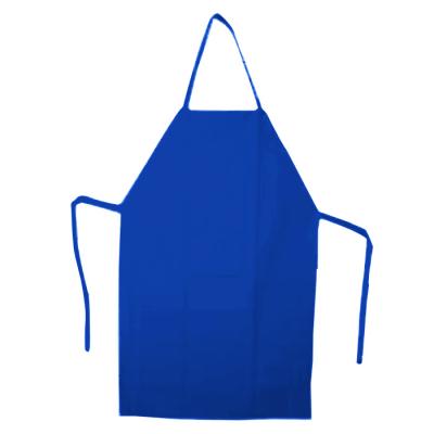 Avental plástico para pintura Liso Azul