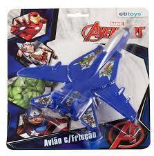 Avião de Fricção Avengers - Etitoys