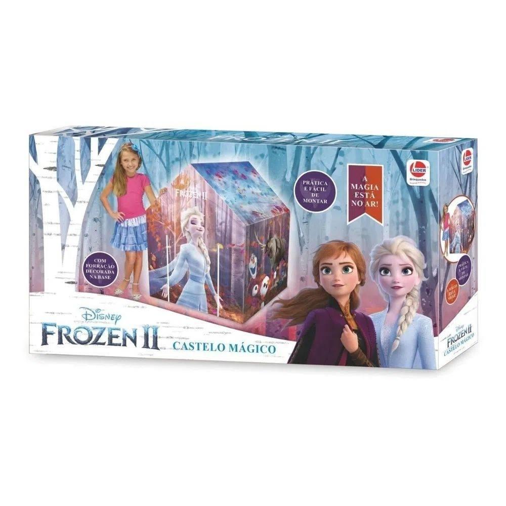 Barraca Castelo Mágico Frozen II - Lider Brinquedos