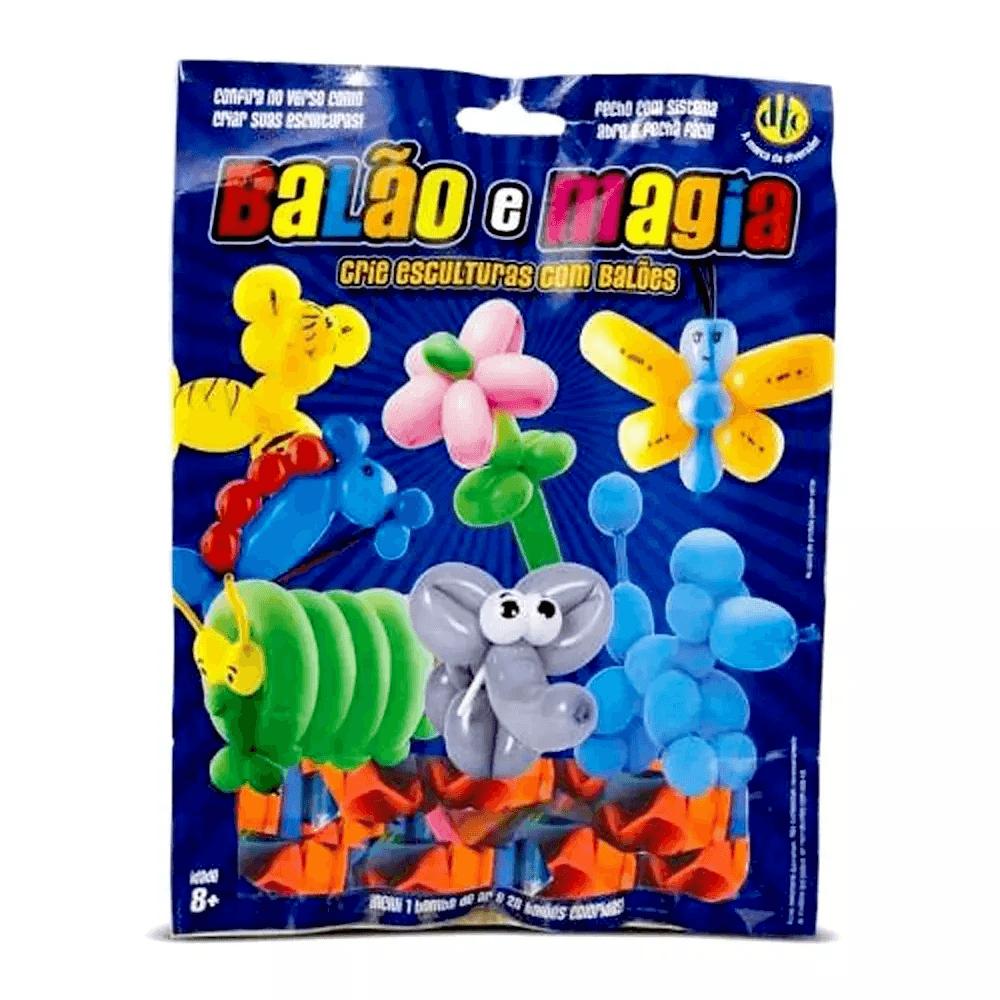 Bexiga Balão E Magia Com 20 Unidades