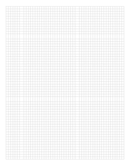 Papel Milimetrado A4 Branco - 1UN