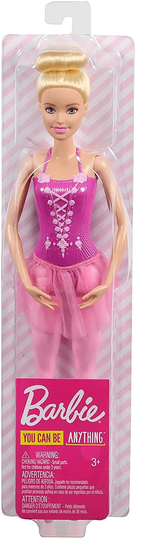 Boneca Barbie Bailarina Clássica - Rosa - Mattel