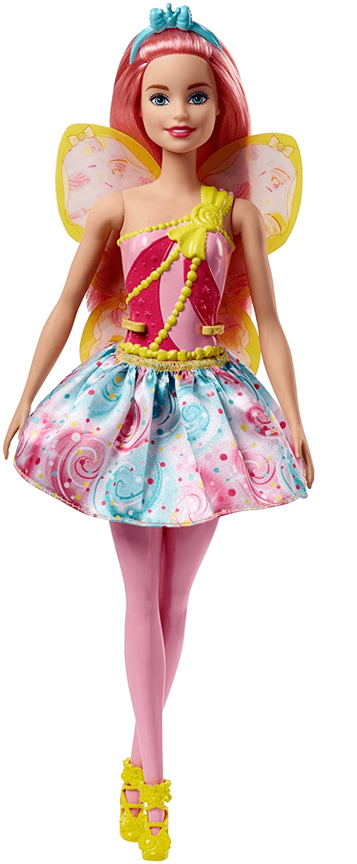 Boneca Barbie Dreamtopia - Fada Reino dos Doces - Rosa