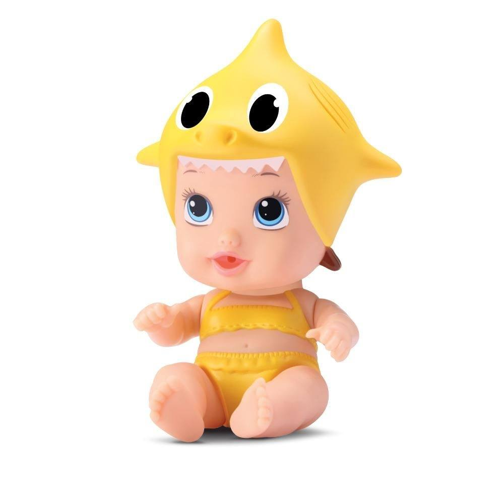 Boneca Little Dolls Tubarãozinho Amarelo -