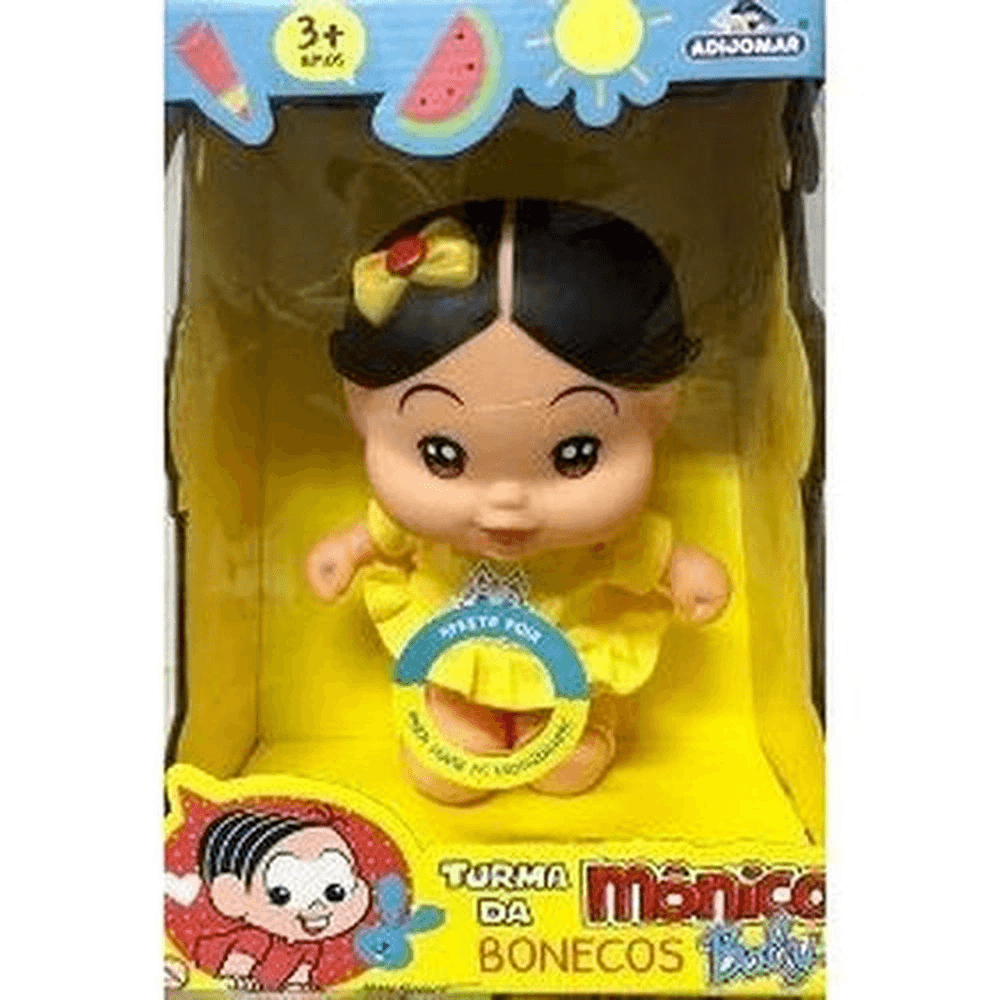 Boneco Baby Magali - Turma Da Monica Fala Frases Adijomar