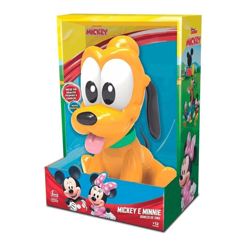 Boneco De Vinil Pluto Baby - Líder Brinquedos