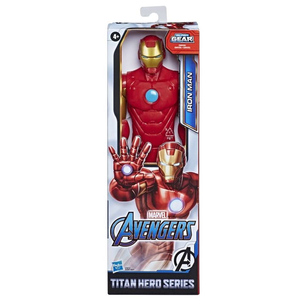 Boneco Homem de Ferro Titan Hero Blast Gear Vingadores - Hasbro