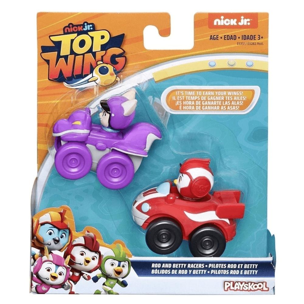 Boneco Top Wing Pilotos Rod e Betty Playskool Hasbro E5282