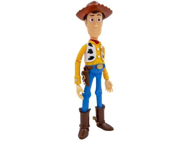 Boneco Toy Story Woody com Acessórios - Toyng