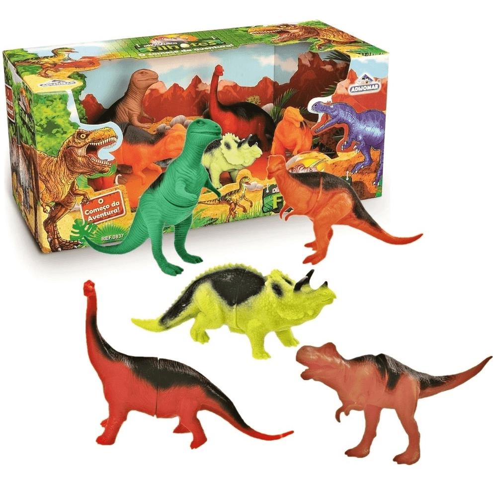Bonecos Dinossauros Filhotes