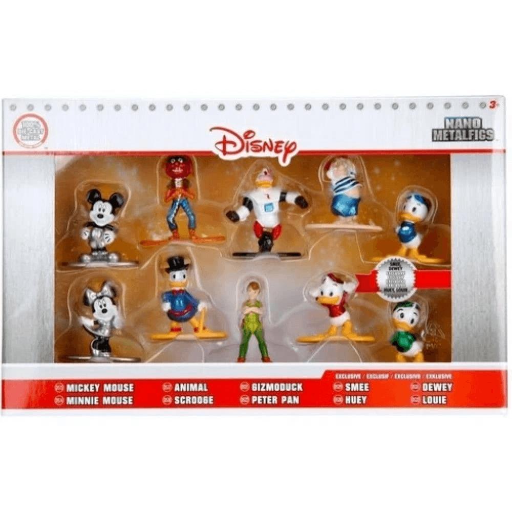 Bonecos Nano Metalfigs Disney Pack B c/10 unidades