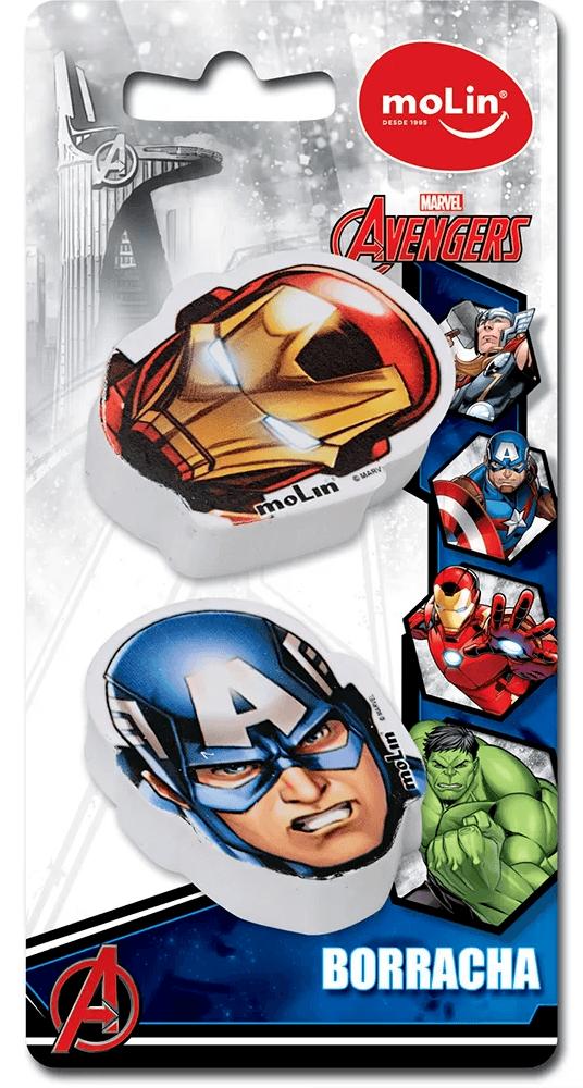 Borracha fantasia Avengers sortido 22260 Molin BT 2 UN