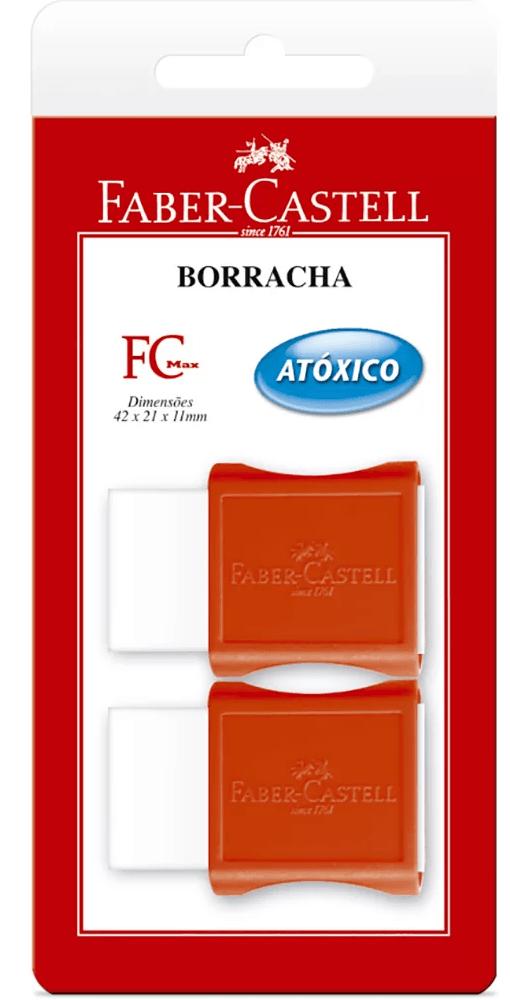 Borracha c/ cinta Max pequena SM/107024 Faber Castell BT 2 UN