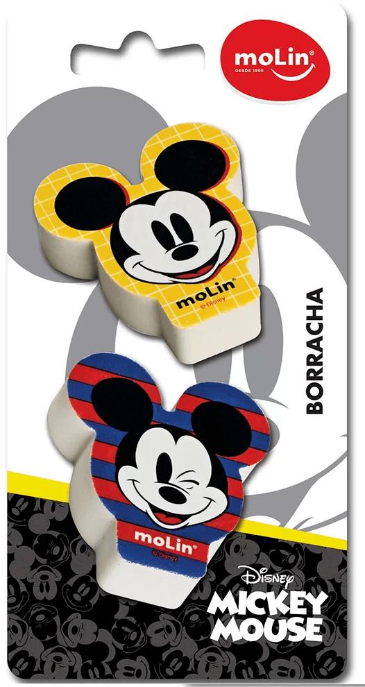Borracha fantasia Mickey sortido 22660 Molin BT 2 UN