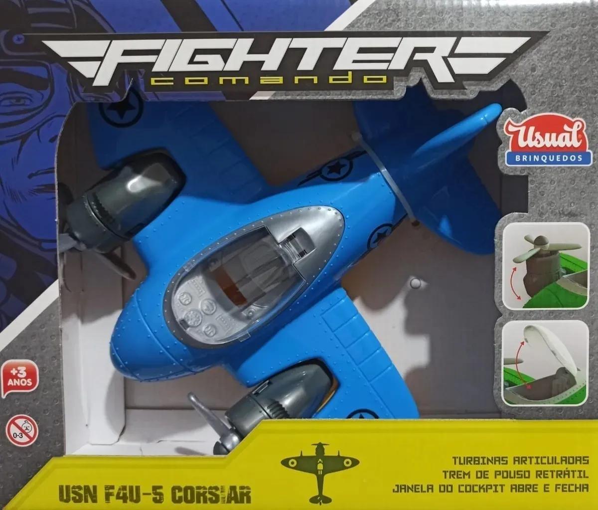 Brinquedo Avião Fighter Comando
