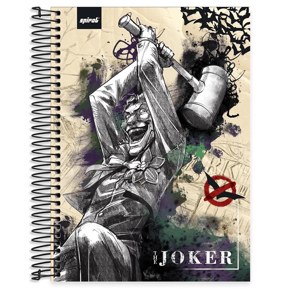 Caderno universitário capa dura 10x1 160 folhas Joker 211863 Spiral PT 1 UN