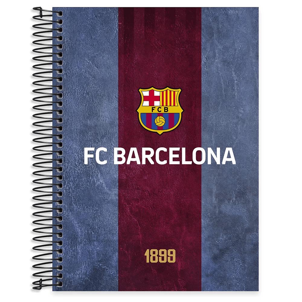 Caderno universitário capa dura 15x1 240 folhas Barcelona 211972 Spiral PT 1 UN