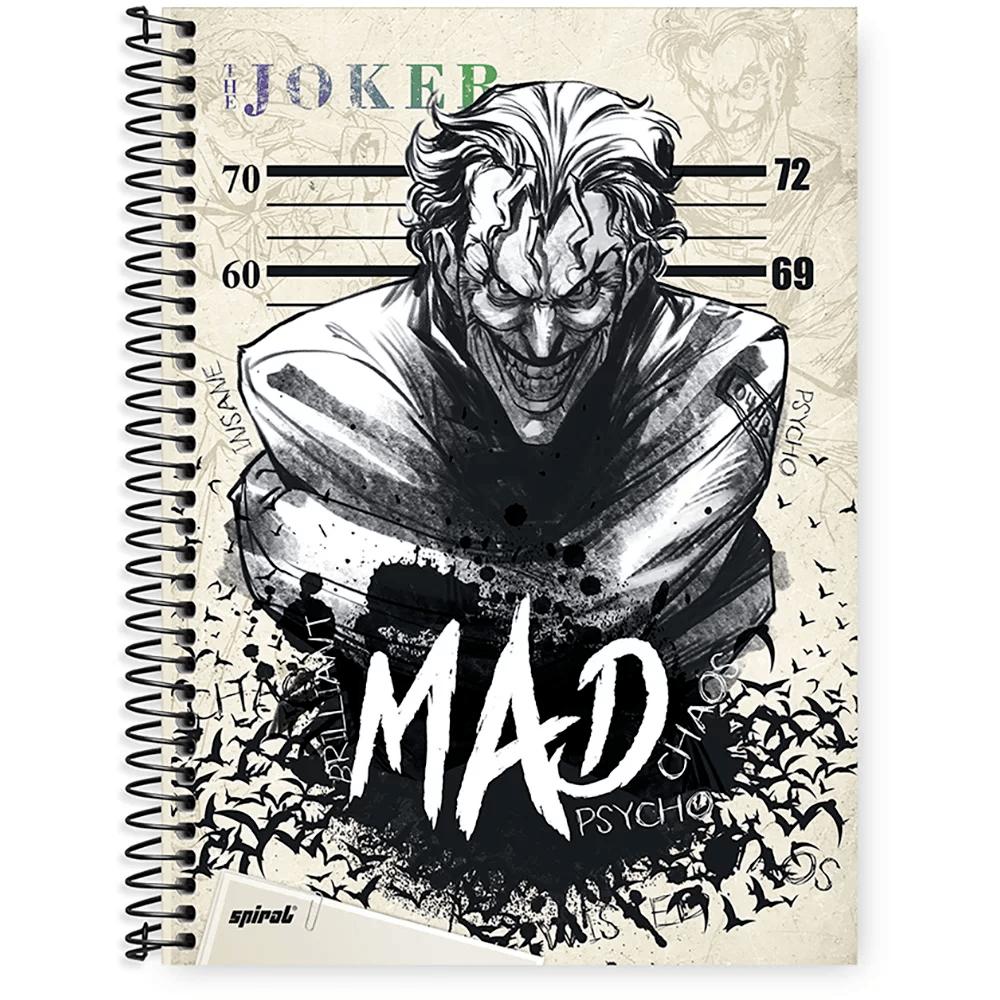 Caderno Universitário Capa Dura 1x1 96 fls Joker 20293 Spiral Jok PT 1 UN