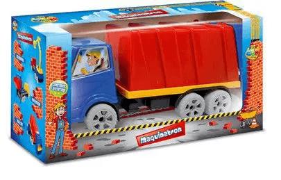 Caminhão Papa Lixo Coleta Lixo Maquinatron - Ggb Brinquedos