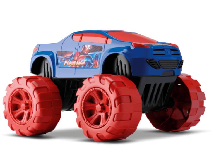 Carrinho Big Car Force Man